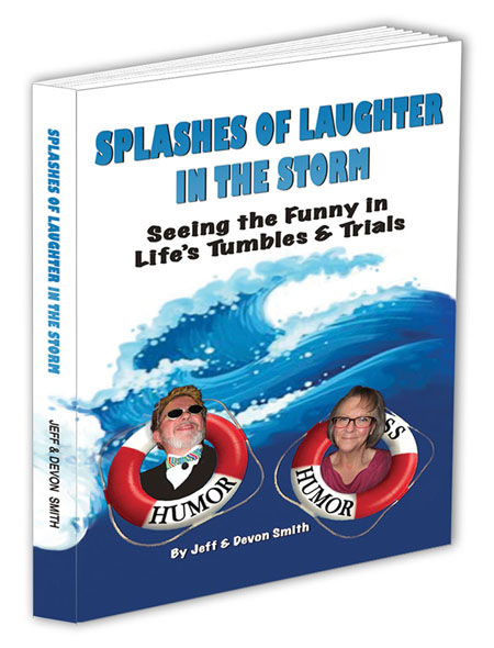Book Cover of Splashes of Laughter in the Storm